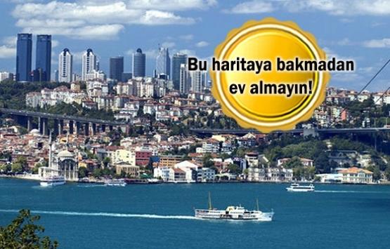 İstanbul'un riskli ve sağlam zeminleri: İlçe ilçe risk haritası!