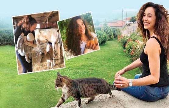 Azra Akın Edirne'ye yerleşti! Çiftlikte yeni yaşam!
