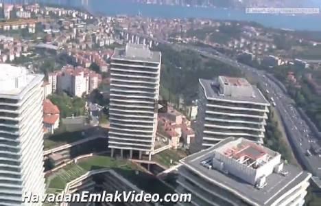 Zorlu Center Zincirlikuyu Evleri'nin havadan en yeni videosu!