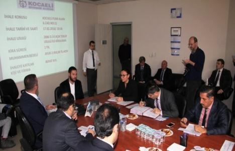 Kocaeli Büyükşehir Belediyesi'ne ait 4 işyeri kiralandı!