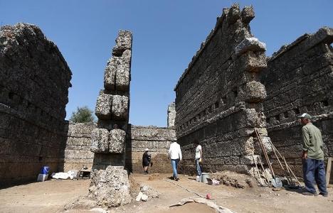 Aspendos Antik Kenti Tarihi : Aspendos kazılarında bin yıllık dükkanlar ortaya çıktı