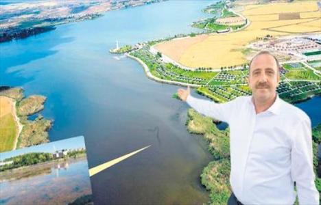 Mogan Gölü'nün temizlenmesi için yapılan ihale ikinci kez iptal edildi!