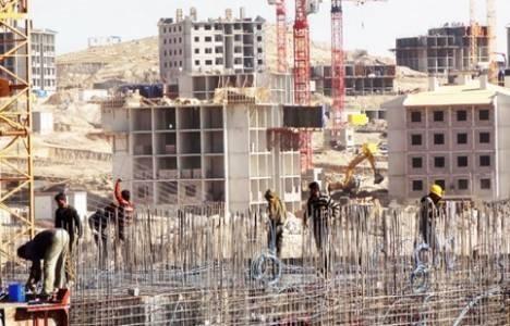Ekim'de inşaat sektörüne