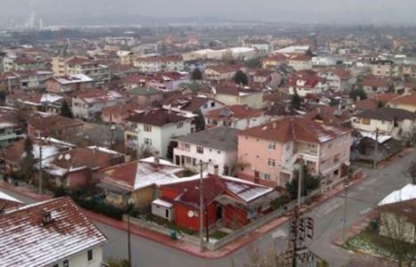 Kocaeli'de hasarlı bina