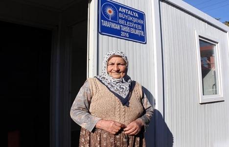 Antalya Büyükşehir'den Hafize