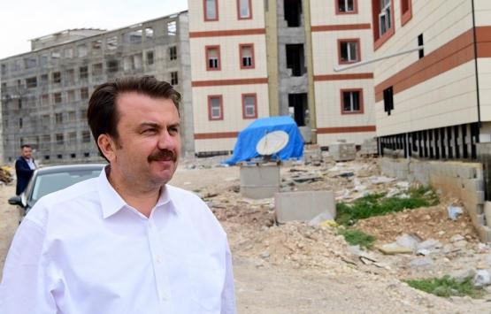 Tenzile Erdoğan İmam Hatip Lisesi inşaatında sona gelindi!