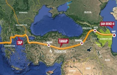 TANAP Eskişehir-Yunanistan sınırı