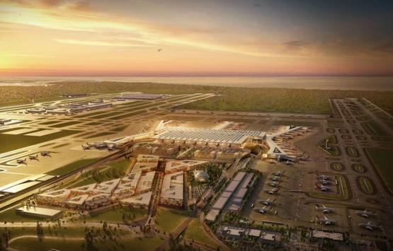 İstanbul Yeni Havalimanı'nda