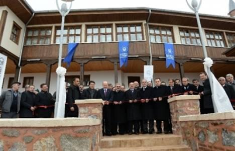Üftade Tekkesi ve Camii yeni yüzüyle hizmete açıldı!