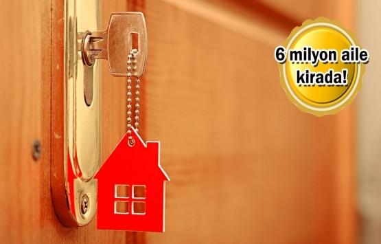 Türkiye'de ev sahipliği oranı azalıyor, kiracılık yükselişte!