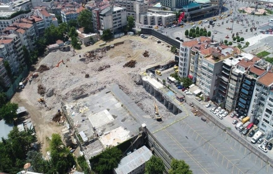 AKM'nin inşaatı 2