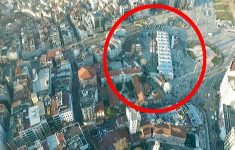 Taksim Camii projesine