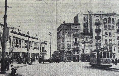 1938 yılında Taksim'de