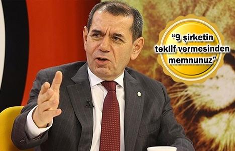 Dursun Özbek'ten Riva ihalesi açıklaması!