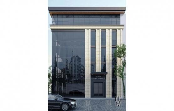 AK Parti'nin Çorum'daki yeni binasına yıkım kararı!