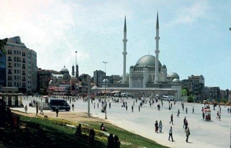 Taksim Camii'nin ruhsatı
