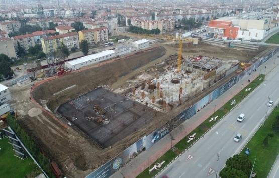 Manisa Prime'ın inşaatı