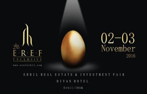 Irak Erbil Real Estate Fair 2-3 Kasım'da gerçekleşecek!