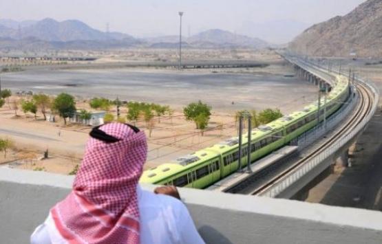 Mekke-Medine Hızlı Tren Hattı'nda test sürüşleri başladı!