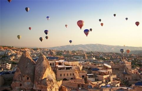 Kapadokya'yı 5 ayda 1 milyon turist ziyaret etti!