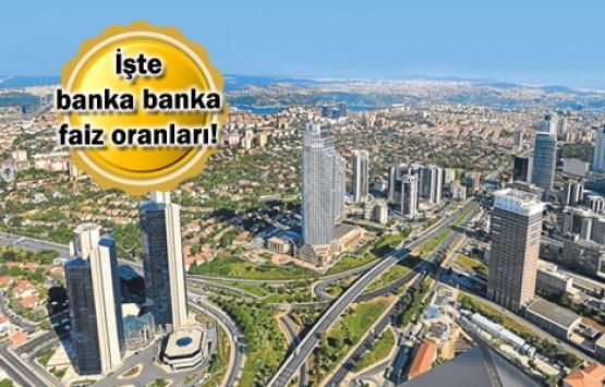 17 bankada konut kredi faiz oranları ne durumda?