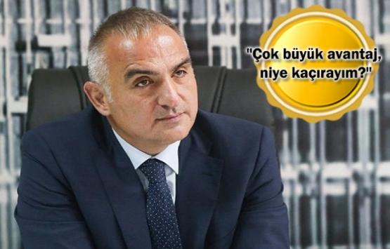 Bakan Ersoy: Otellerim için imar barışına başvurdum!
