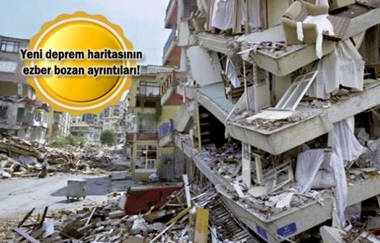 Deprem riski 46 ilde azaldı, 6 ilde arttı!