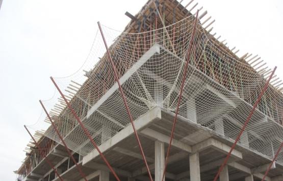 Konya Karapınar'da inşaattan