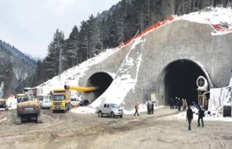Ilgaz Dağı Tüneli'nde