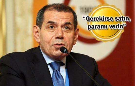 Dursun Özbek'ten Galatasaray'a haciz şoku!
