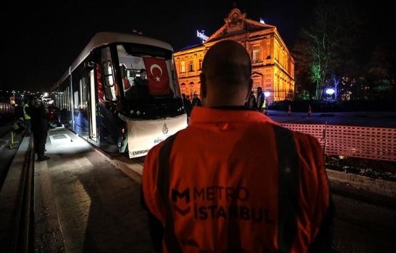 Eminönü-Alibeyköy tramvay hattında