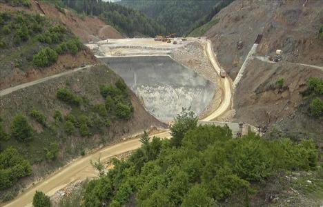 Akçay Barajında sona