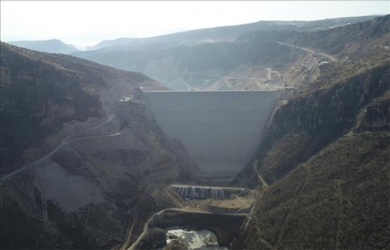 Diyarbakır Silvan Barajı'nın gövde dolgusu yarın tamamlanacak!