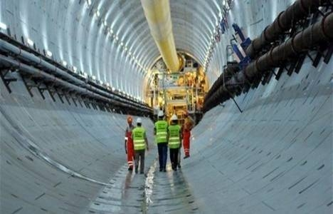 Avrasya Tüneli'ndeki çalışmalar tamamlanmak üzere!