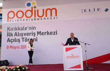 Kırıkkale Podium AVM Beşir Atalay'ın katılımıyla açıldı!