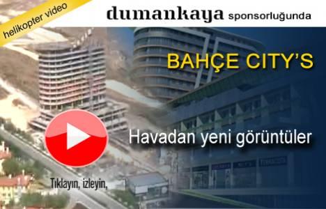 Bahçe Citys Bahçeşehir'in havadan son görüntüleri!