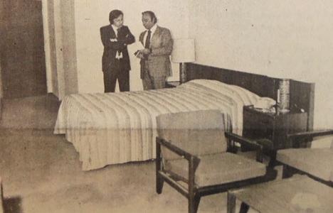 1975 yılında Sheraton