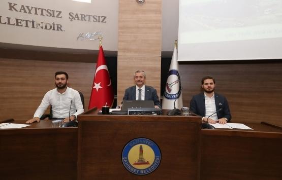 Şahinbey Belediyesi Ekim ayı toplantısı gerçekleştirildi!
