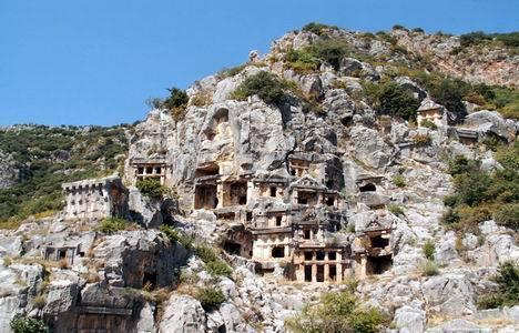 Antalya Demre'deki bölgelere 1. Derece Arkeolojik Sit Alanı kararı!
