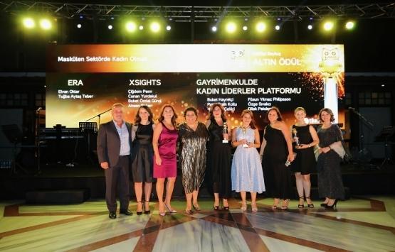 Gayrimenkulde Kadın Liderler Platformu Baykuş Ödülü aldı!