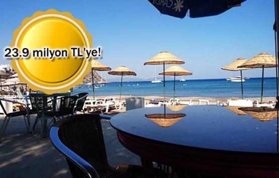 Bodrum İlayda Beach Club icradan satılıyor!