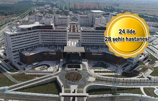 Şehir hastaneleri hangi