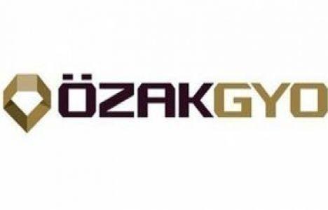Özak GYO esas sözleşmesini yayınladı!