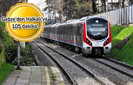 Gebze-Halkalı demiryolu hattının