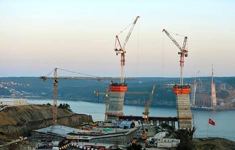 boğaz köprüsü inşaat çalışmaları