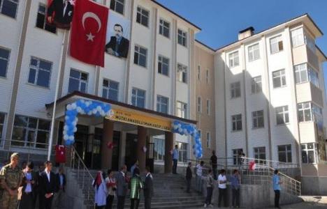 Bitlis'te imam hatip lisesi ve kompleksi hizmete açıldı!