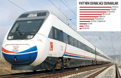 Ankara-İstanbul arası hızlı tren ile 3 saate düşürecek!