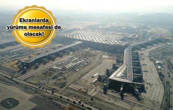 İstanbul Yeni Havalimanı'nda özel önlem!
