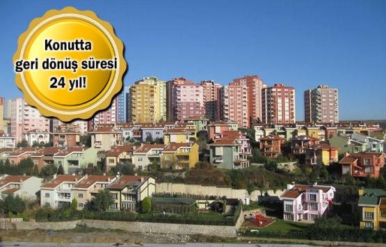 Başakşehir'de ortalama konut fiyatı 417 bin 186 TL!