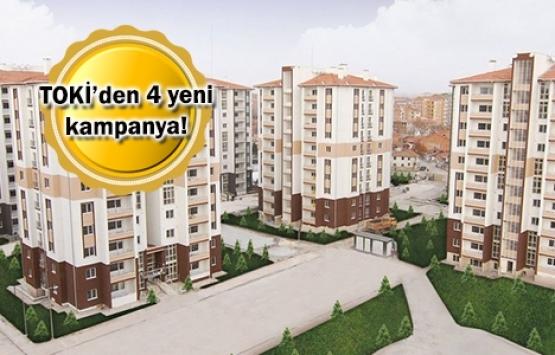 TOKİ'den 7 bin TL peşinat ve 309 taksitle konut fırsatı!